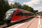 Kahlgrundbahn Landpension Villa Dominikus
