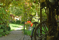 Garten Landpension Villa Dominikus